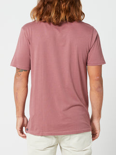 Solid Short Sleeve Tee - Rose Brown (A5032074_RSB) [B]