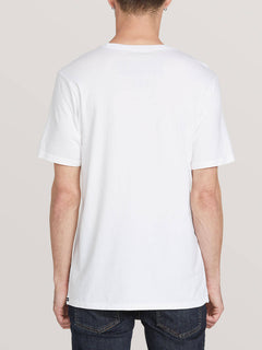 Future Earth Short Sleeve Tee White (A5041905_WHT) [B]