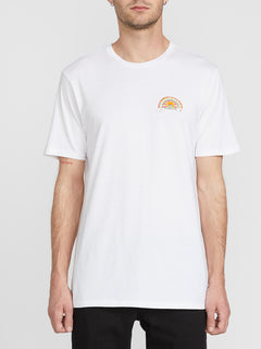 Ozzie Short Sleeve Tee White (A5041911_WHT) [F]