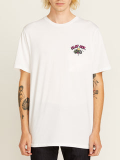 Flat Out Short Sleeve Tee - White