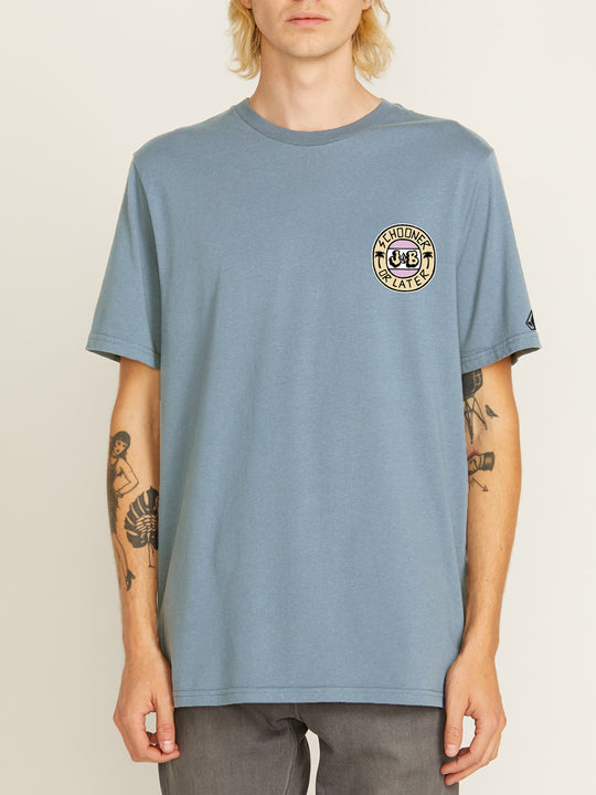 Or Later Short Sleeve Tee - Slate Blue