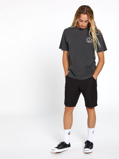 Yellers Short Sleeve Tee Black (A5212002_BLK) [20-60]