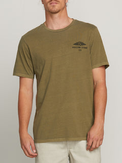 Mystical Stone Short Sleeve Tee - Vineyard Green