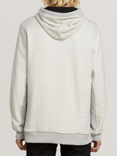 Intermission Lined Zip Hoodie - Heather Grey
