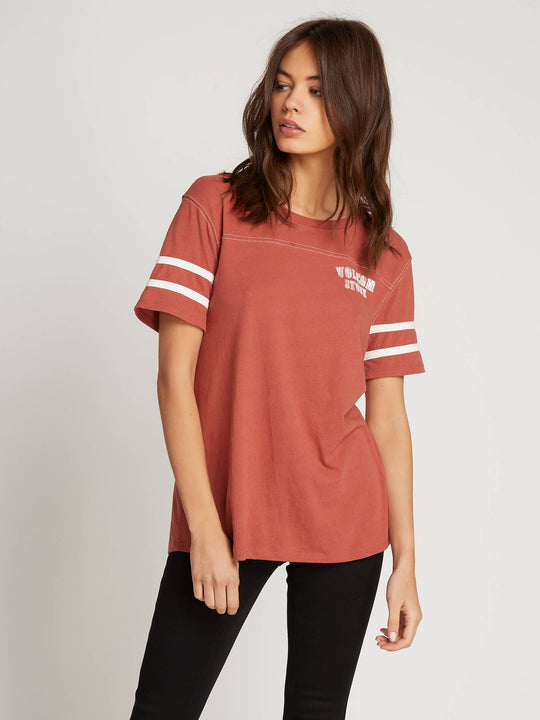 Streakin Stone Short Sleeve - Dark Clay
