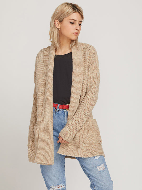 Found Home Sweater - Oxford Tan