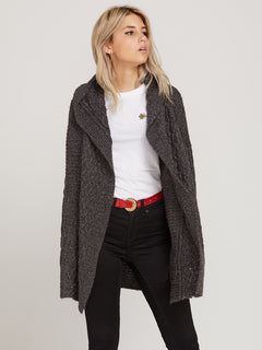 Homeward Bound Cardigan - Vintage Black