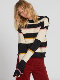Madame Shady Sweater Black Combo (B0731902_BLC) [1]