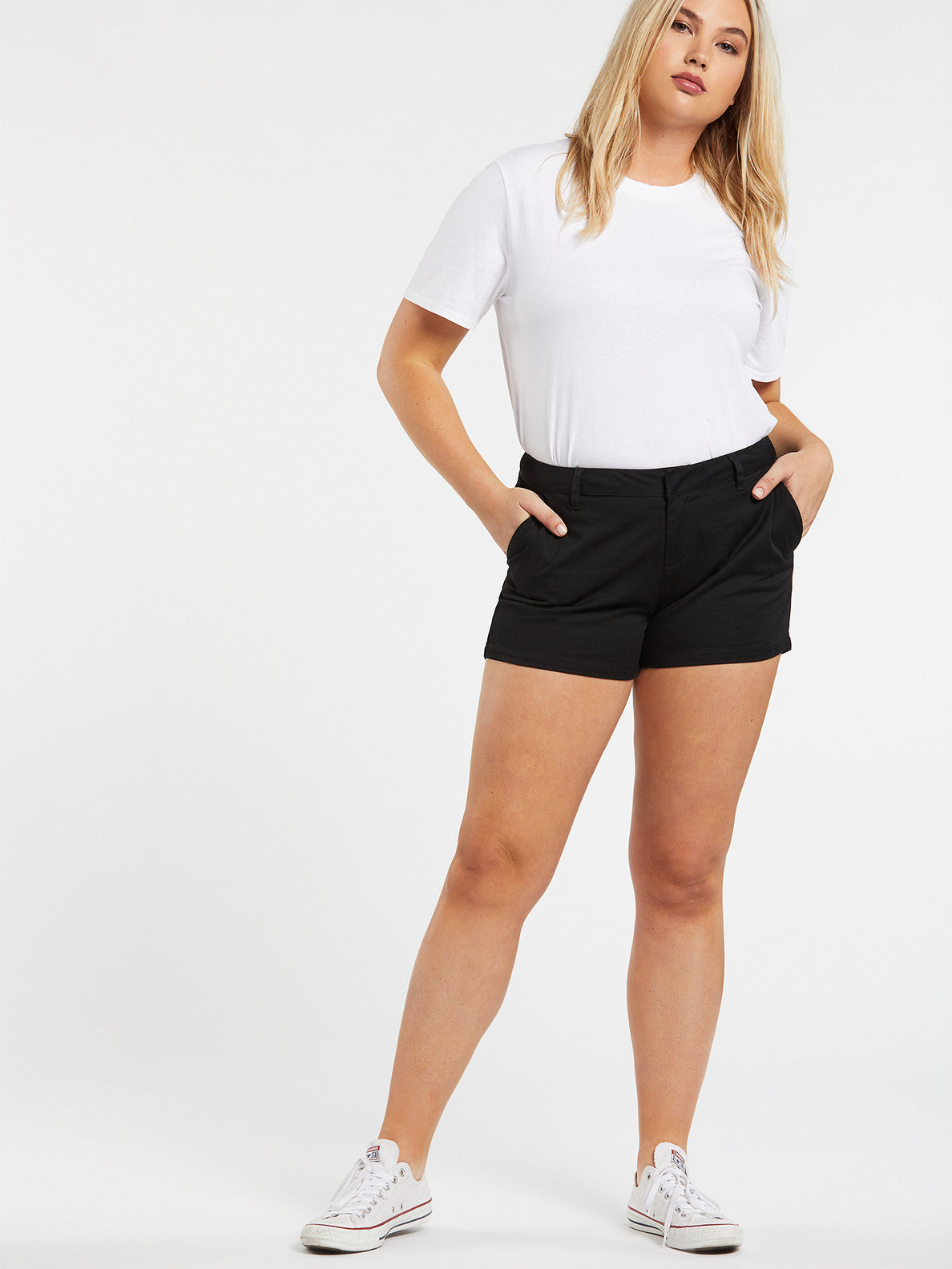 Frochickie Shorts - Black (B0911800_BLK) [3]