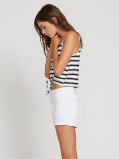 Frochickie Shorts - White