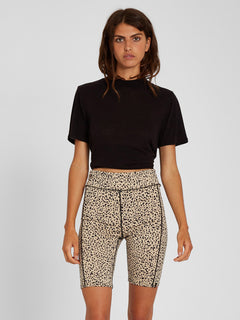 Lived In Lounge Bike Short - Animal Print