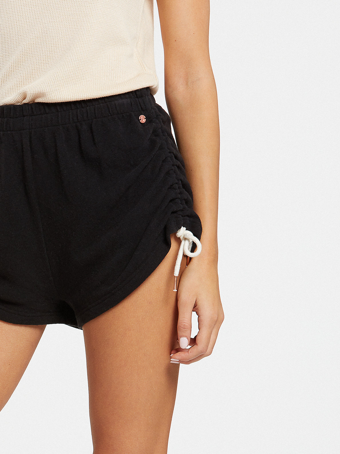 Lived In Lounge Fleece Shorts - Black (B0931803_BLK) [52]