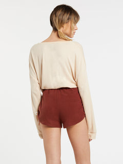 Lil Fleece Short Brick (B0931803_BRK) [B]