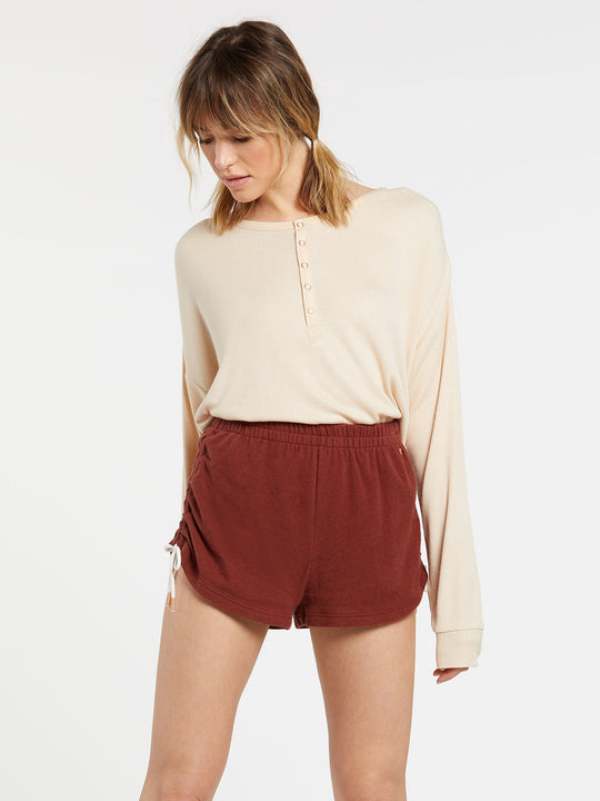 Lil Fleece Short Brick (B0931803_BRK) [F]