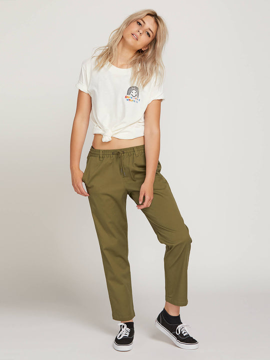 Frochickie Travel Pants - Vineyard Green