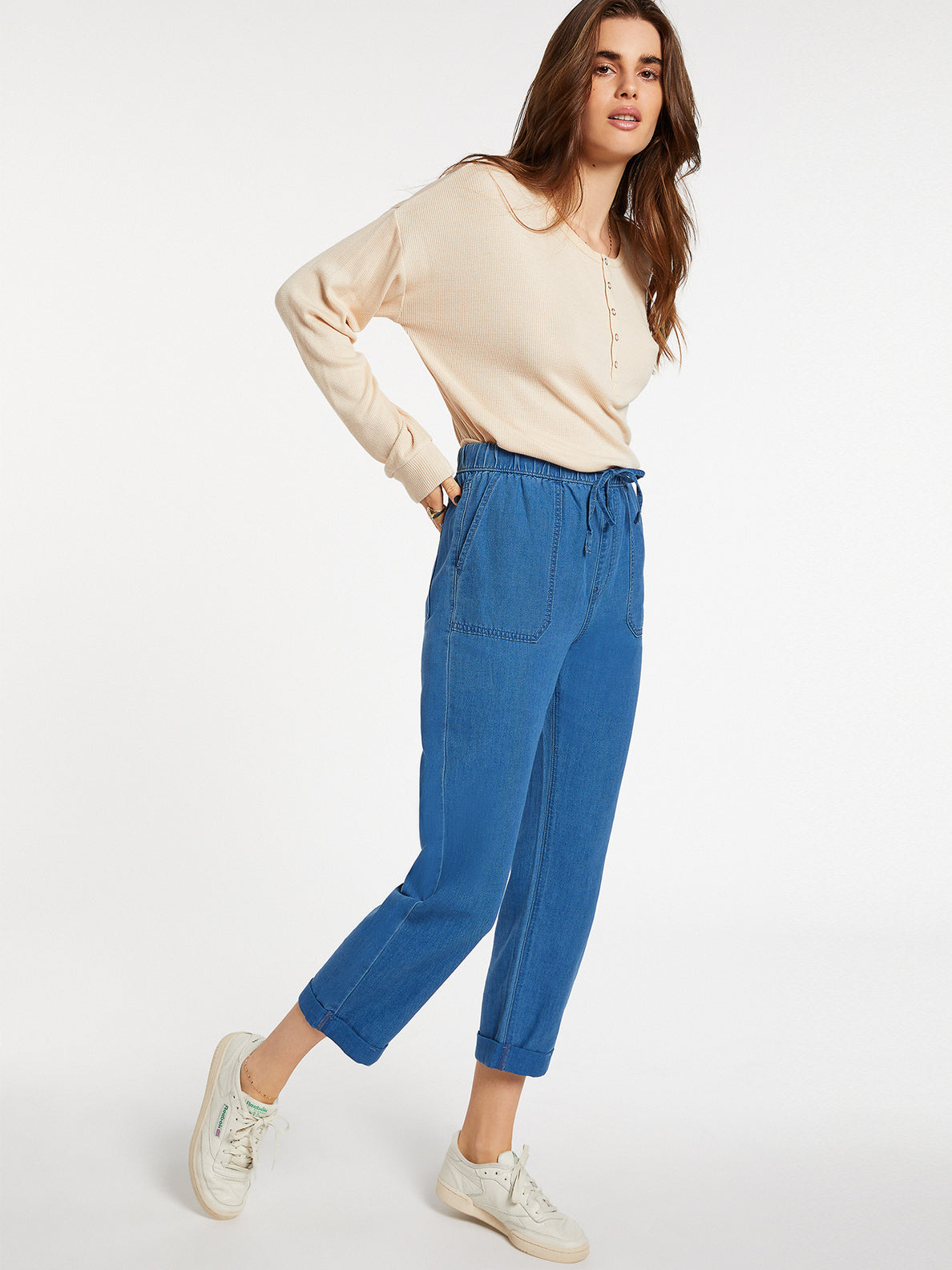 Sunday Strut Pant Airforce Blue (B1232006_AFB) [4]