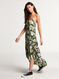 Thats My Type Maxi Dress Lime (B1312107_LIM) [1]