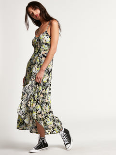 Thats My Type Maxi Dress Lime (B1312107_LIM) [3]