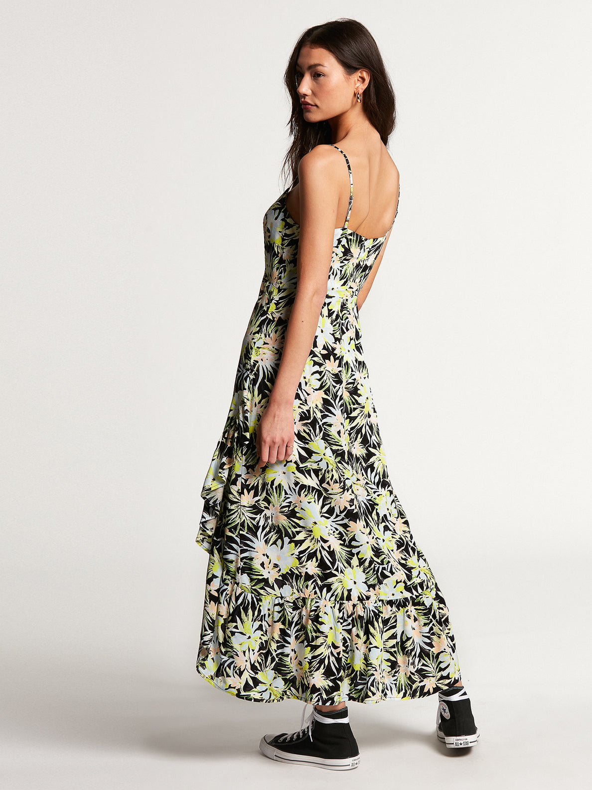 Thats My Type Maxi Dress Lime (B1312107_LIM) [B]