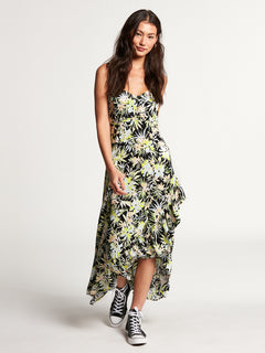 Thats My Type Maxi Dress Lime (B1312107_LIM) [F]