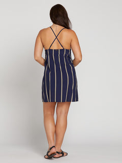 Now Or Now Cami Dress - Midnight Blue