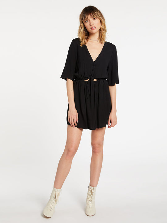Ven Om Dress Black (B1332010_BLK) [F]