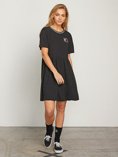 Stone Dreamin Dress - Black