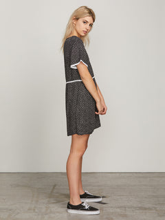 Try To Fly Dress - Black Combo