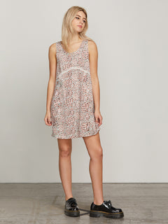 Turning Tides Dress - Cloud Pink