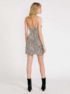 Im A Leo Cami Dress - Leopard