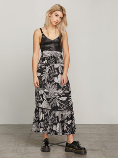 Do Tell Skirt - Black Combo
