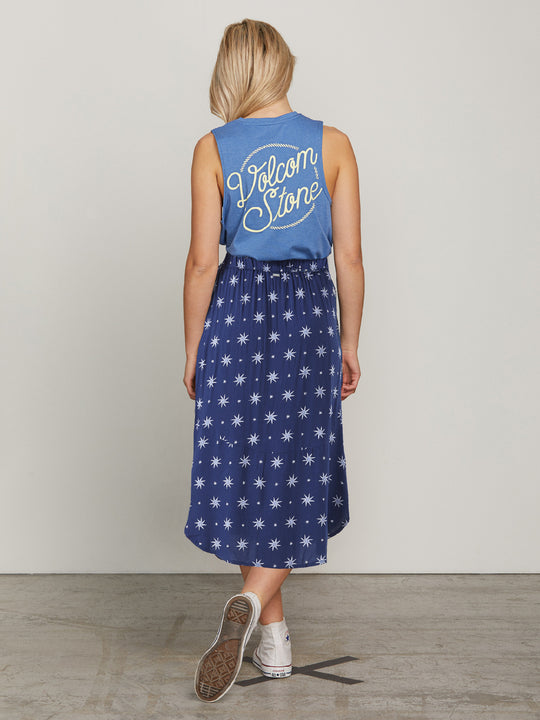 Brighter Star Skirt - Vintage Navy