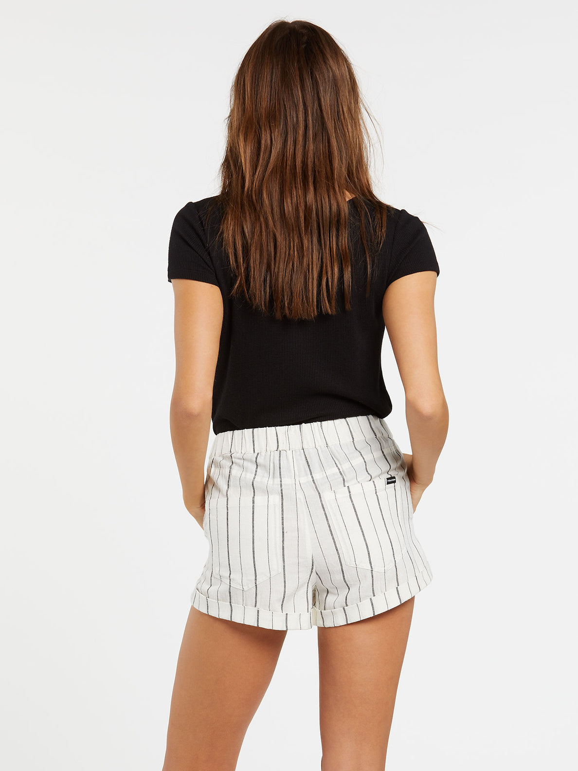 Sunday Strut Short Black Stripe (B1911812_BKS) [B]