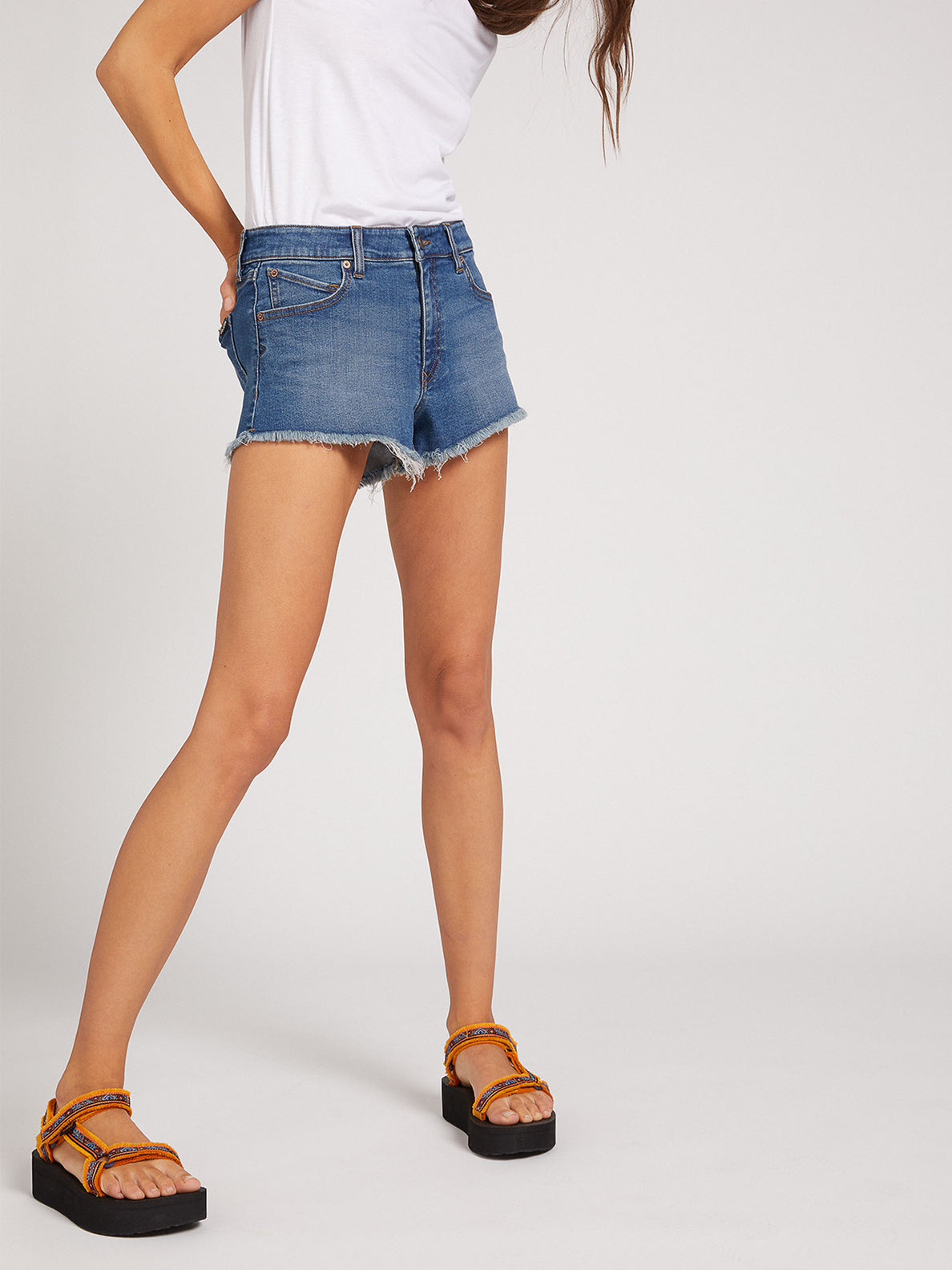 Stoney Stretch Shorts - Indigo Ridge Wash (B1921906_IRW) [17]