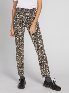 Super Stoned Skinny Jeans - Animal Print (B1931801_ANM) [2]