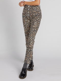Super Stoned Skinny Jeans - Animal Print (B1931801_ANM) [3]