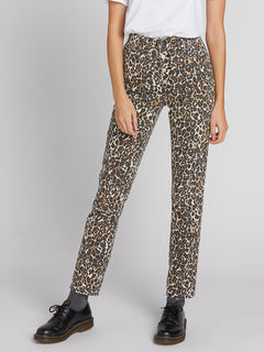 Super Stoned Skinny Jeans - Animal Print (B1931801_ANM) [5]