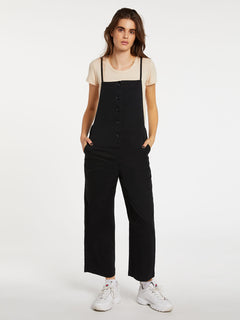 Twill Do Romper Black Out (B2832002_BKO) [F]