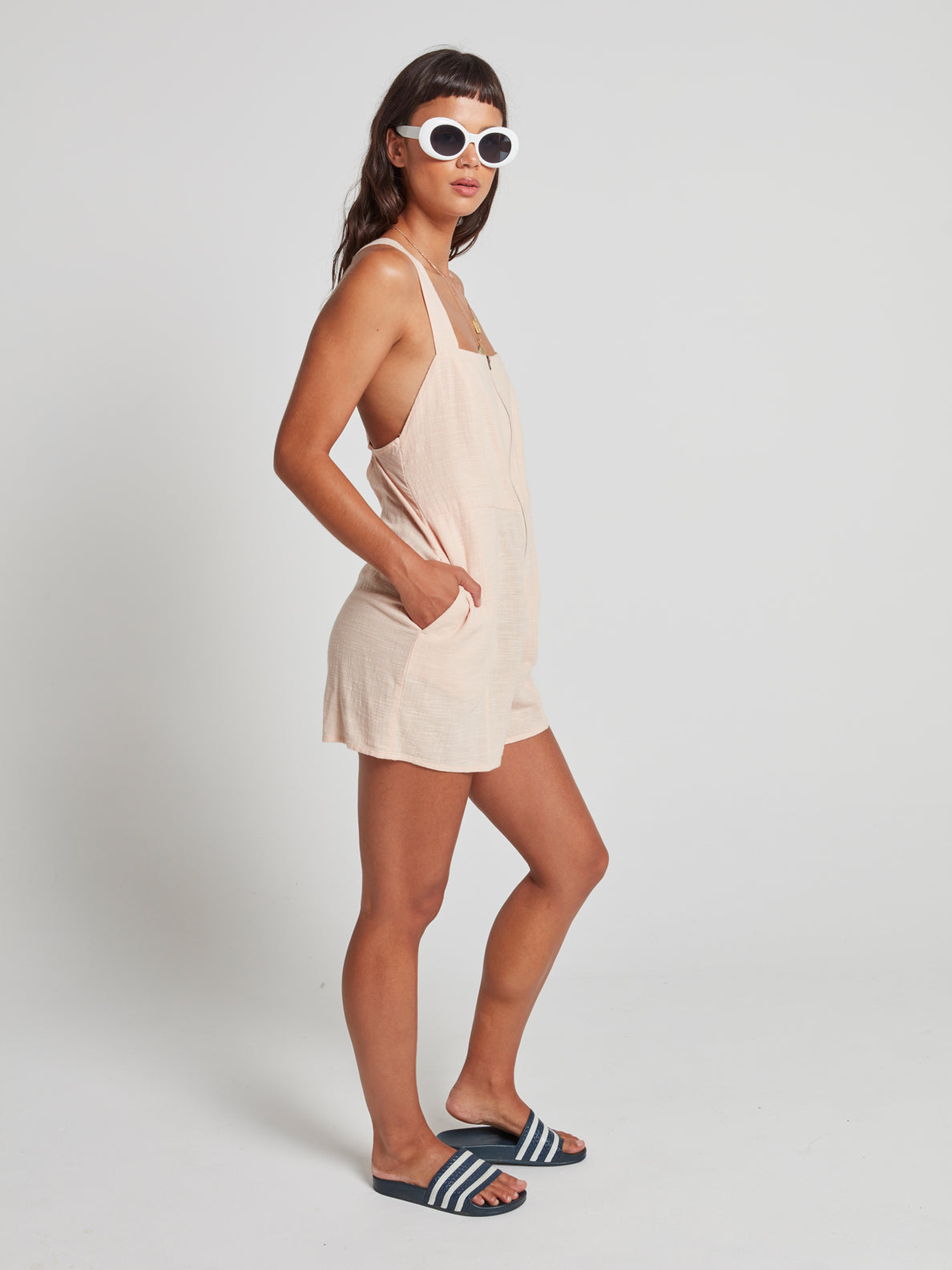 Nightstar Romper Dusty Rose (B2841977_DRO) [1]