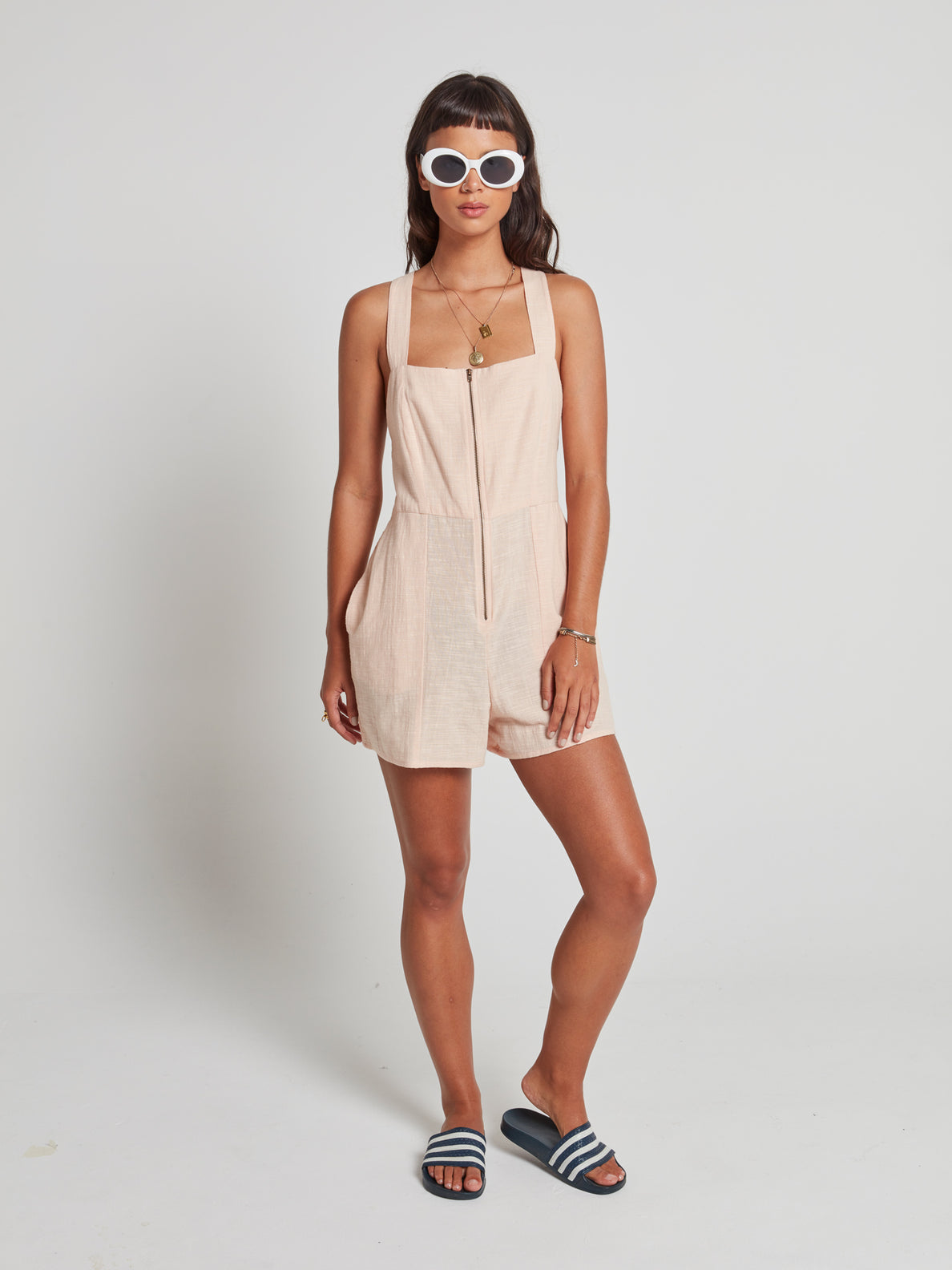 Nightstar Romper Dusty Rose (B2841977_DRO) [F]