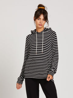 Lived In Lounge Hoodie - Black/White (B3111801_BWH) [1]