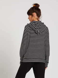 Lived In Lounge Hoodie - Black/White (B3111801_BWH) [2]