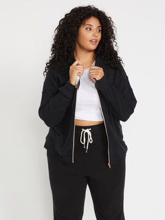 Lil Zip Fleece Black (B3111802P_BLK) [1]