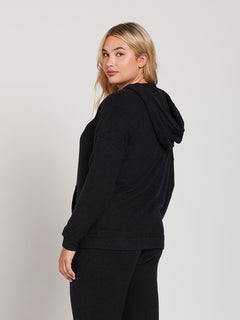 Lived In Lounge Zip Fleece - Black (B3111802_BLK) [22]