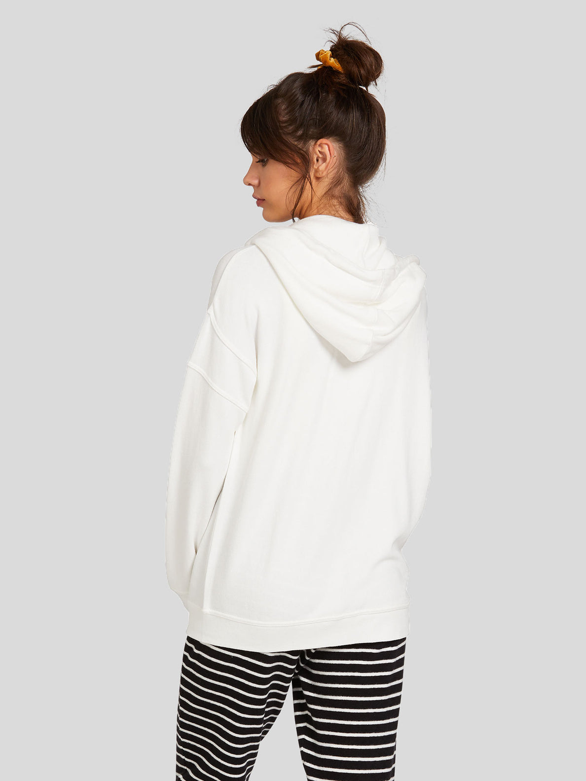 Lived In Lounge Zip Fleece - White