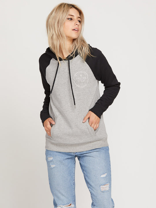 MIND YOUR HOODIE HEATHER GREY