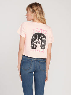 Ozzie Ss Tee Light Peach (B3512004_LPC) [B]