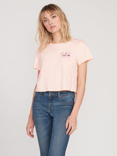Ozzie Ss Tee Light Peach (B3512004_LPC) [F]