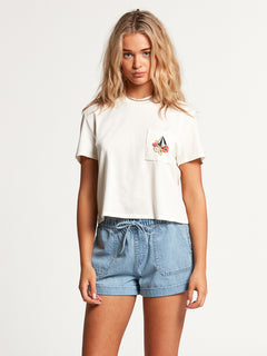 Pocket Dial Tee Star White (B3512103_SWH) [F]