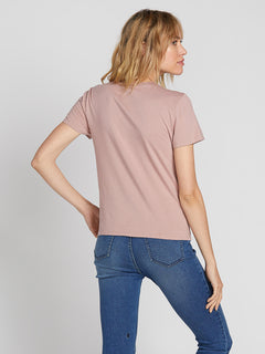 Stoked On Stone Tee Faded Mauve (B3531901_FMV) [B]